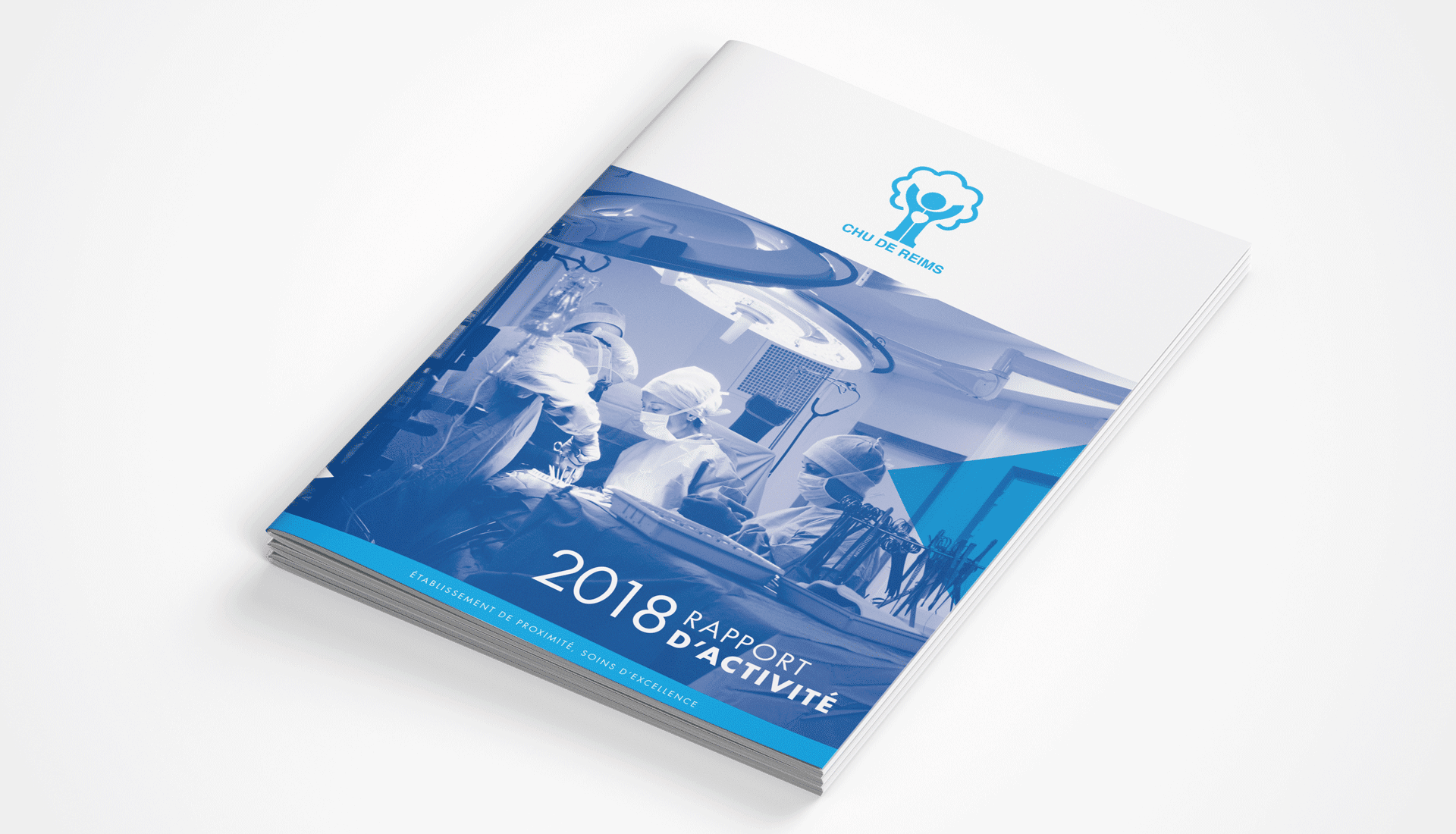 Rapport d'activité 2018 CHU Reims